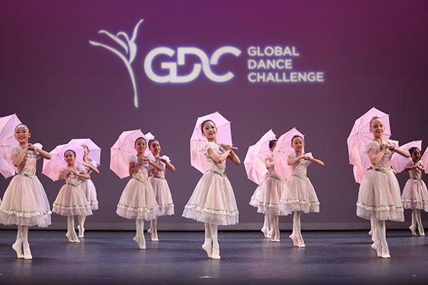 Goh Ballet Academy, for Umbrella Dance